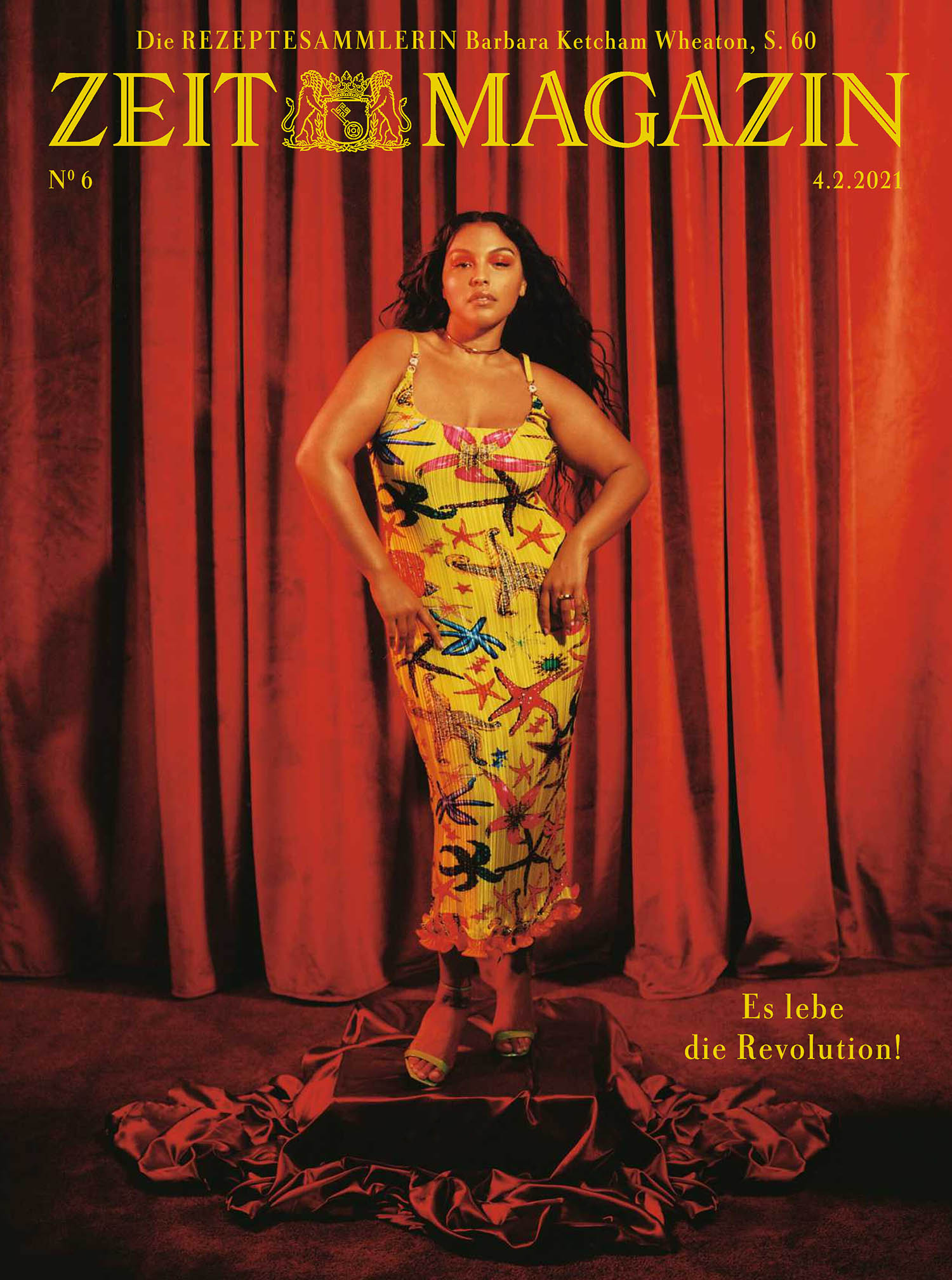 Paloma Elsesser covers ZEITmagazin February 4th, 2021 by Kennedi Carter