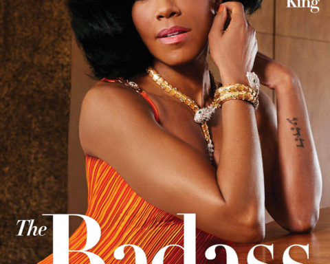 Regina King covers InStyle US February 2021 by Christian Cody