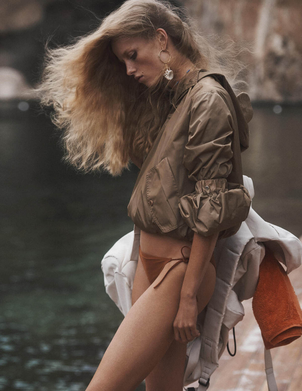 Rianne van Rompaey by Lachlan Bailey for British Vogue February 2021