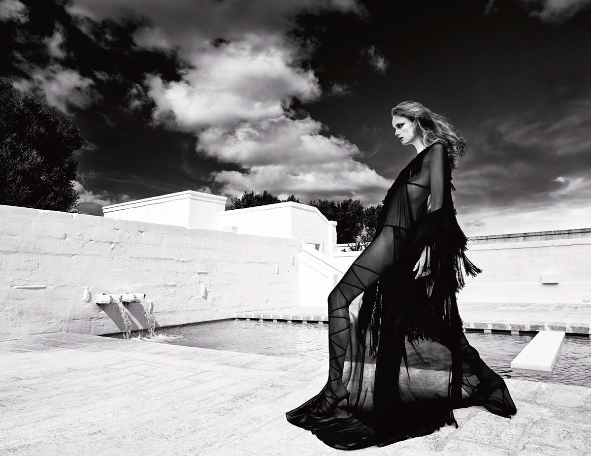 Rianne van Rompaey by Luigi & Iango for Vogue Japan February 2021