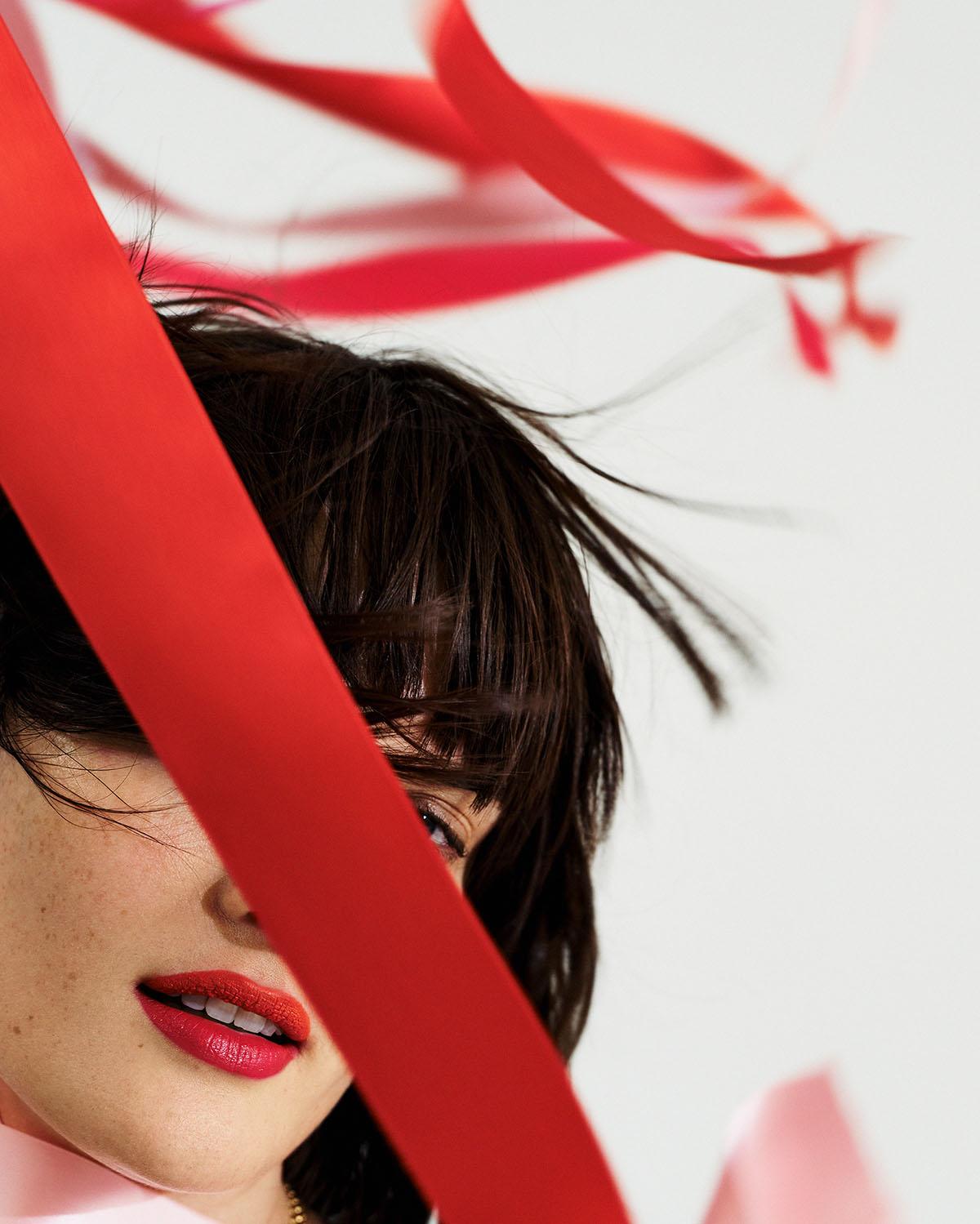 Sam Rollinson covers Elle Russia February 2021 by Turkina Faso