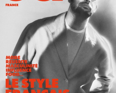 Simon Porte Jacquemus, Roschdy Zem and Ichon cover GQ France February 2021 by Elizaveta Porodina