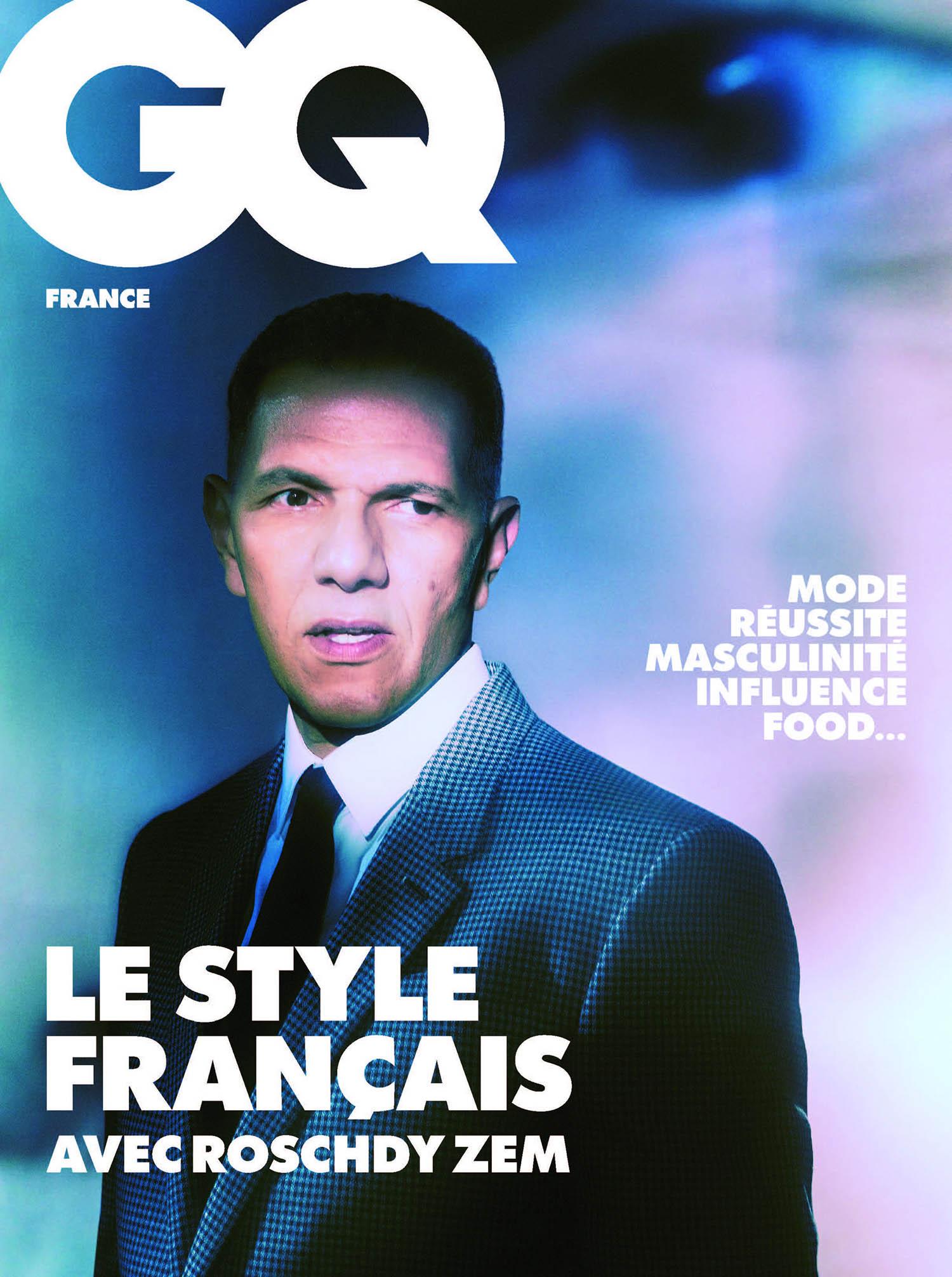 Simon Porte Jacquemus, Roschdy Zem and Ichon cover GQ France February 2021 by Elizaveta Porodina