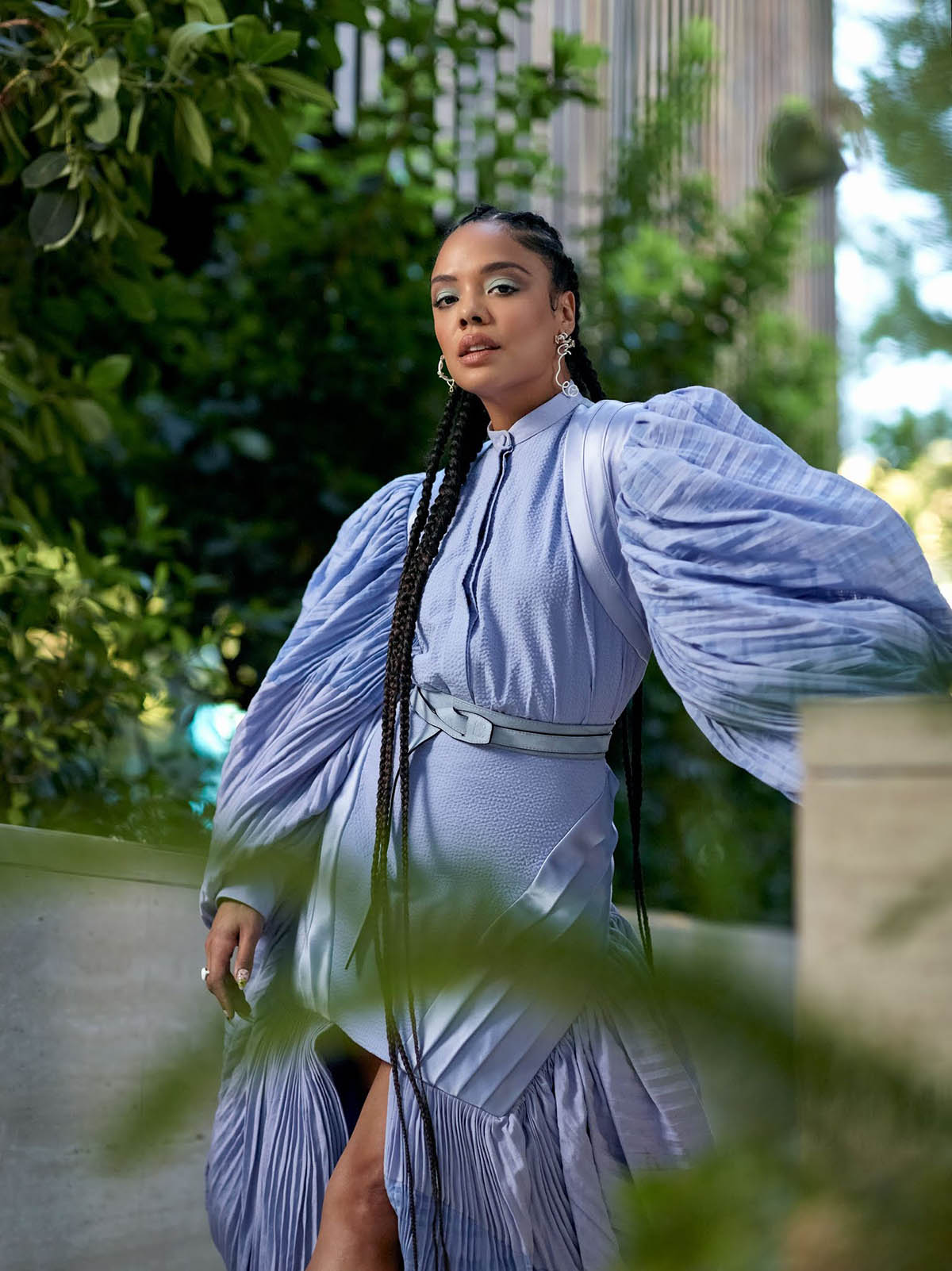 Tessa Thompson covers Town & Country February 2021 by Erik Carter
