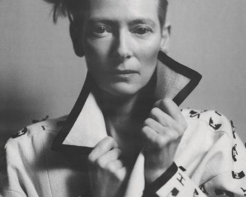 Tilda Swinton by Nikolai von Bismarck for British Vogue February 2021