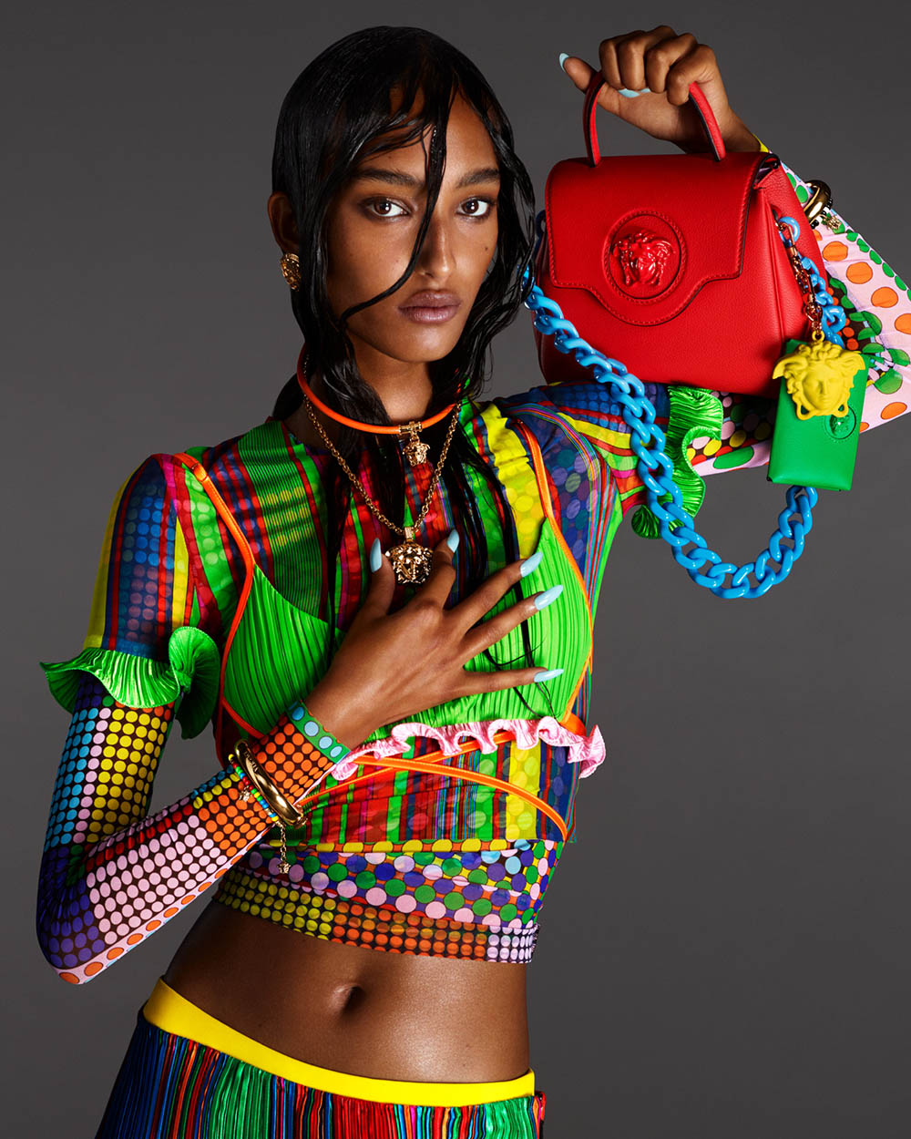 Versace Spring Summer 2021 Campaign