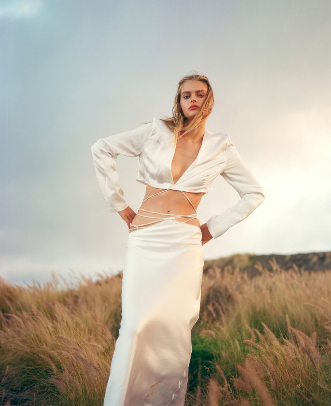 Zoe Blume by Jeremy Choh for L'Officiel Singapore February 2021