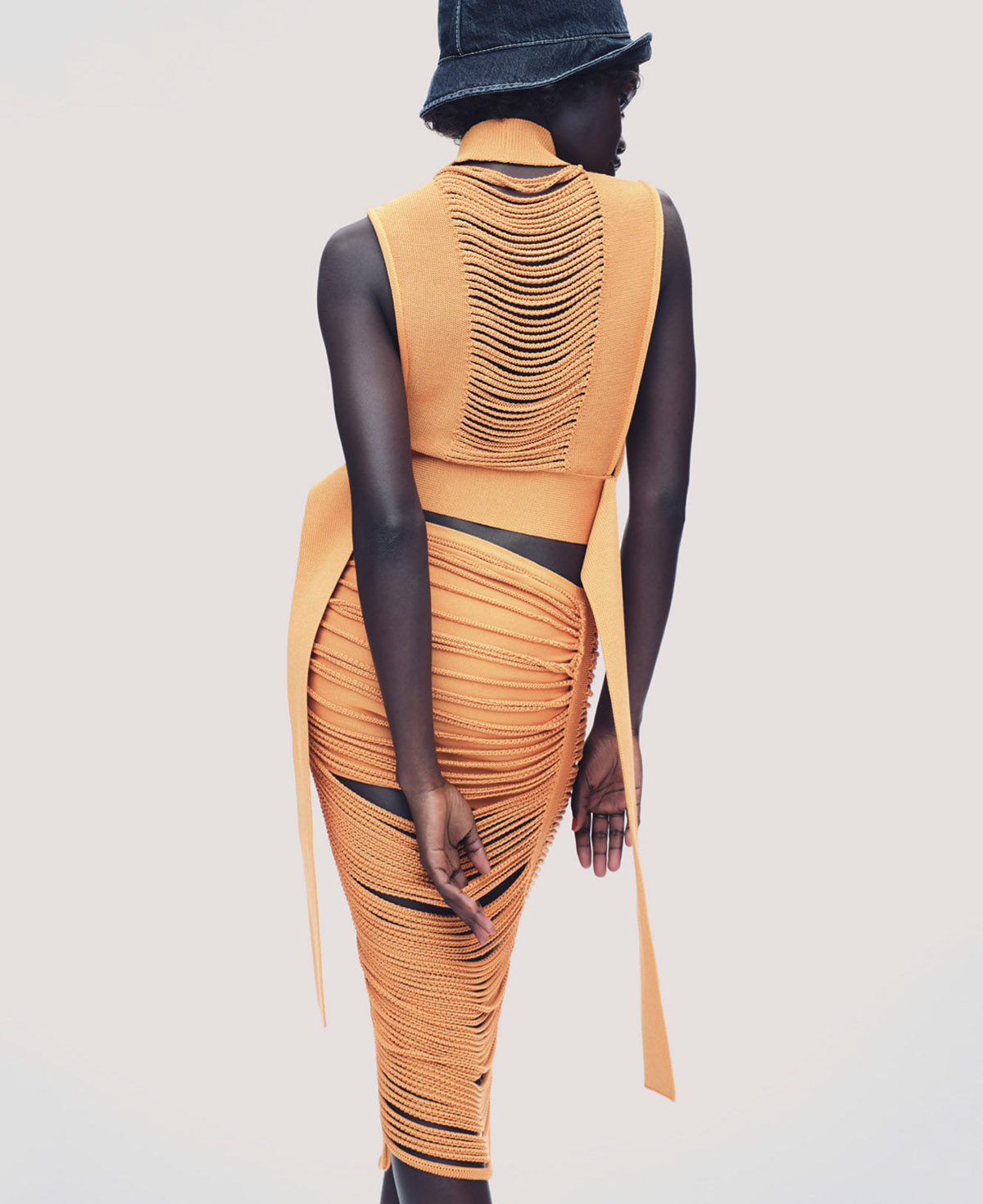 Akon Changkou by Nathaniel Goldberg for Elle US March 2021