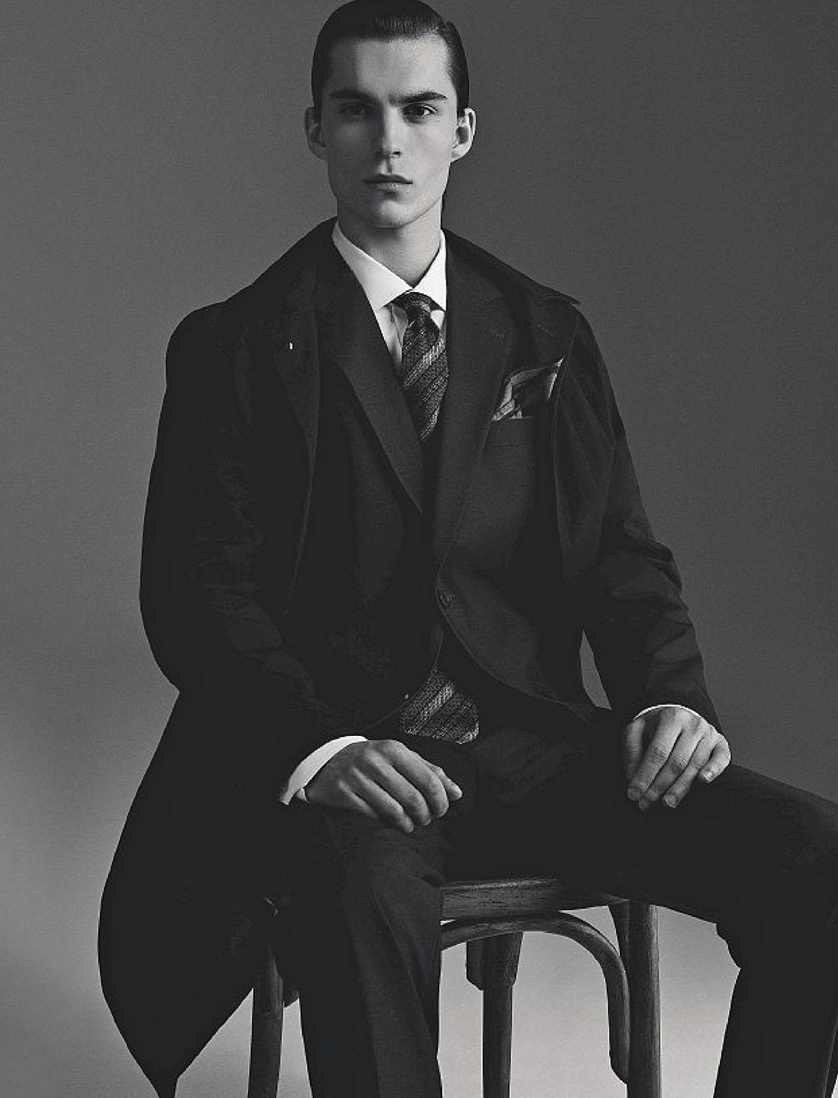 Aleksandr Gudrinš by Giorgio Codazzi for Corriere della Sera Style February March 2021
