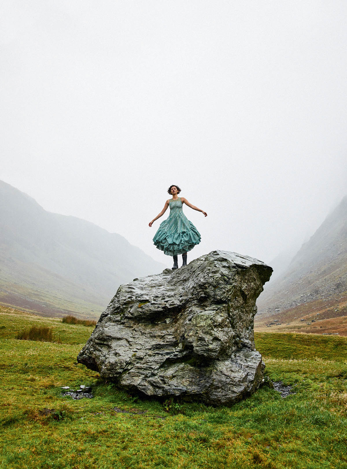 Amber Witcomb by Josh Shinner for Harper's Bazaar UK March 2021