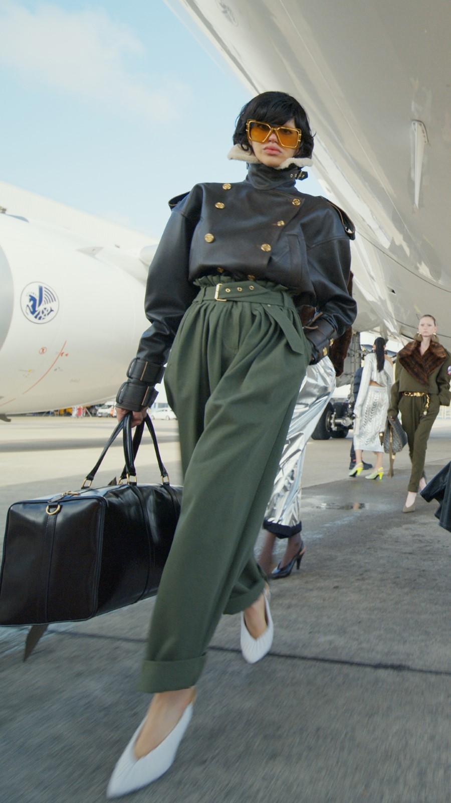 Balmain Fall Winter 2021 - Paris Fashion WeekBalmain Fall Winter 2021 - Paris Fashion Week