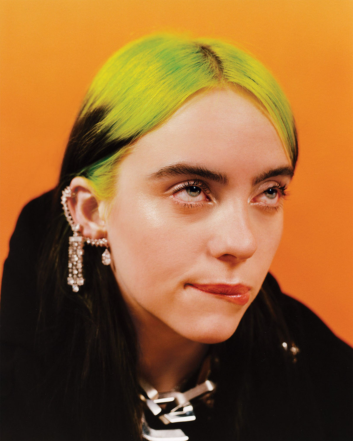 Billie Eilish covers Vanity Fair March 2021 by Quil Lemons