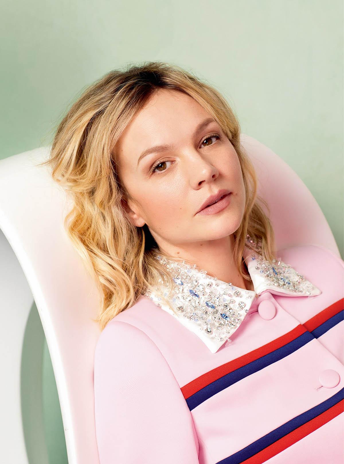 Carey Mulligan covers Harper's Bazaar UK March 2021 by Quentin Jones