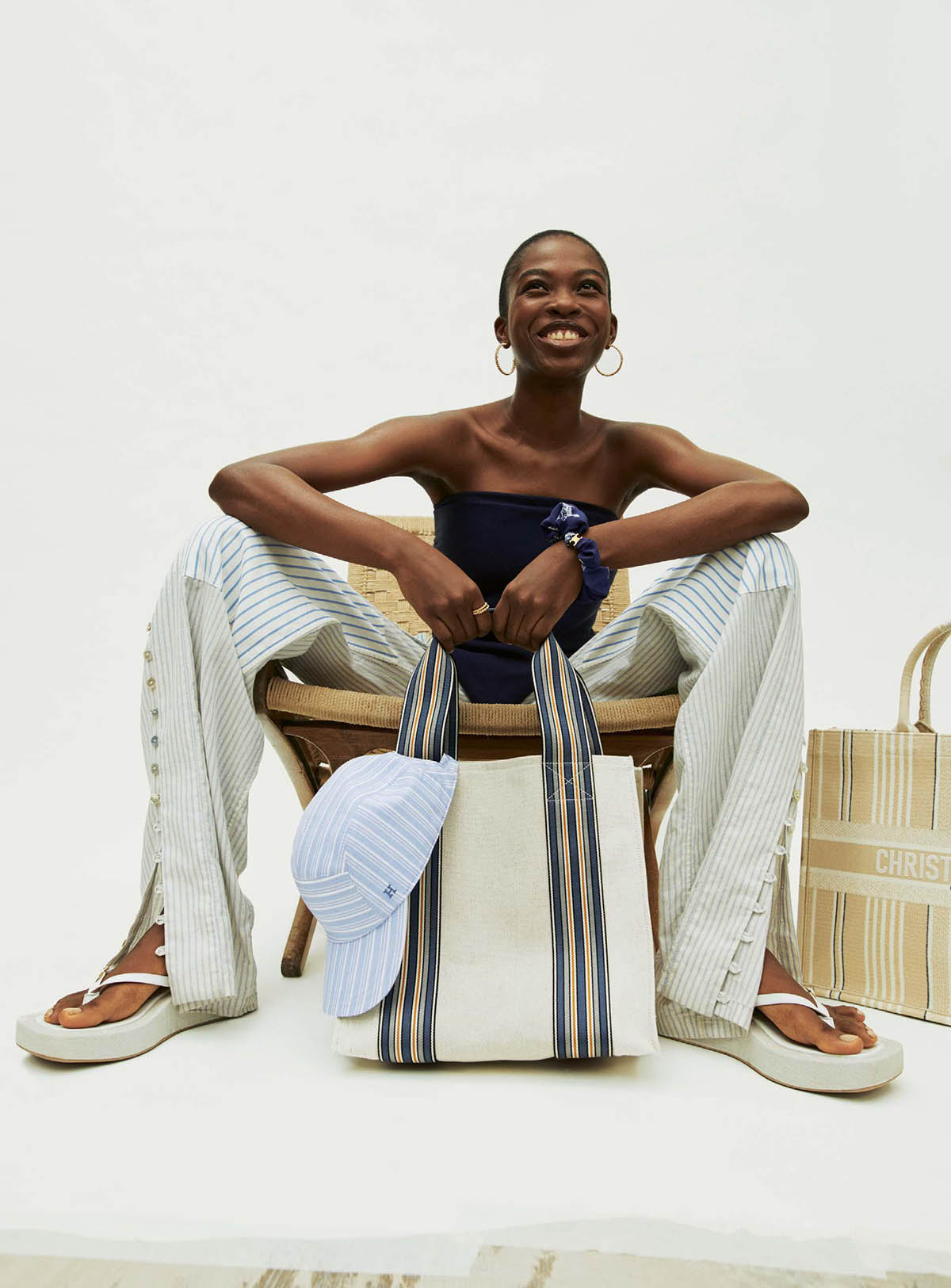Chizoba Emmanuel by Joachim Mueller-Ruchholtz for The Sunday Times Style March 14th, 2021