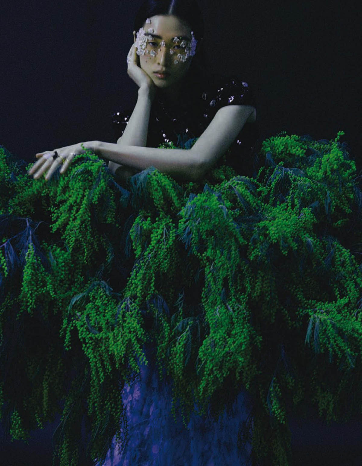 Chu Wong by Wang Liang for Vogue China March 2021
