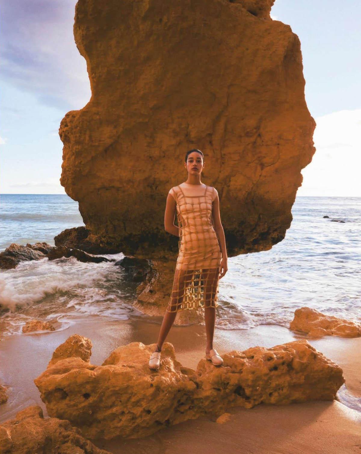 Damaris Goddrie covers Marie Claire France March 2021 by Jesse Laitinen