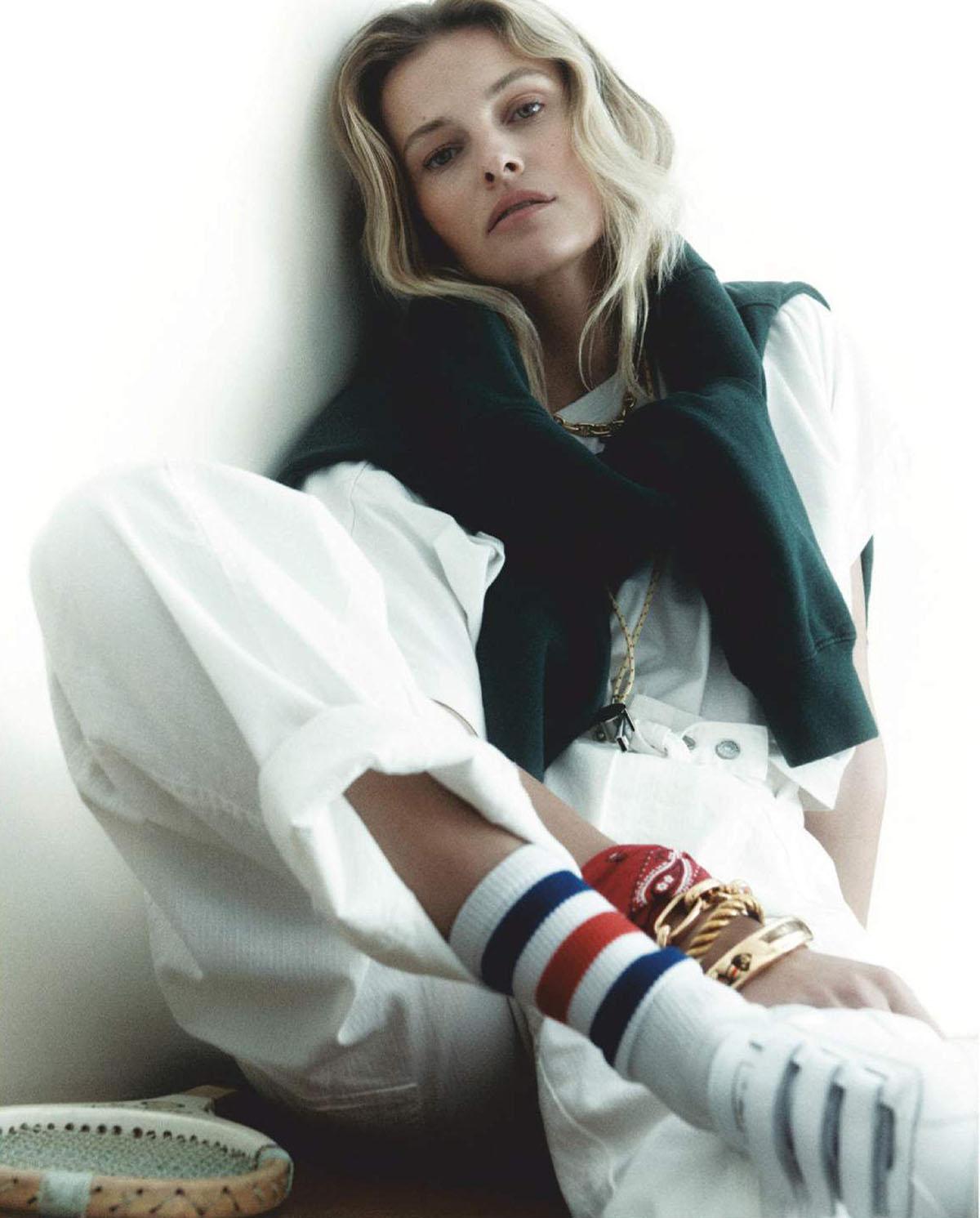 Edita Vilkeviciute by Robin Galiegue for Vogue Paris March 2021