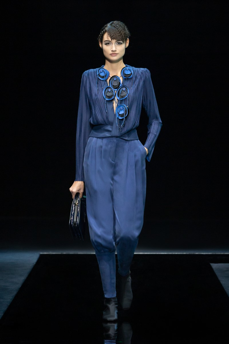 Giorgio Armani Fall Winter 2021 - Milan Fashion Week