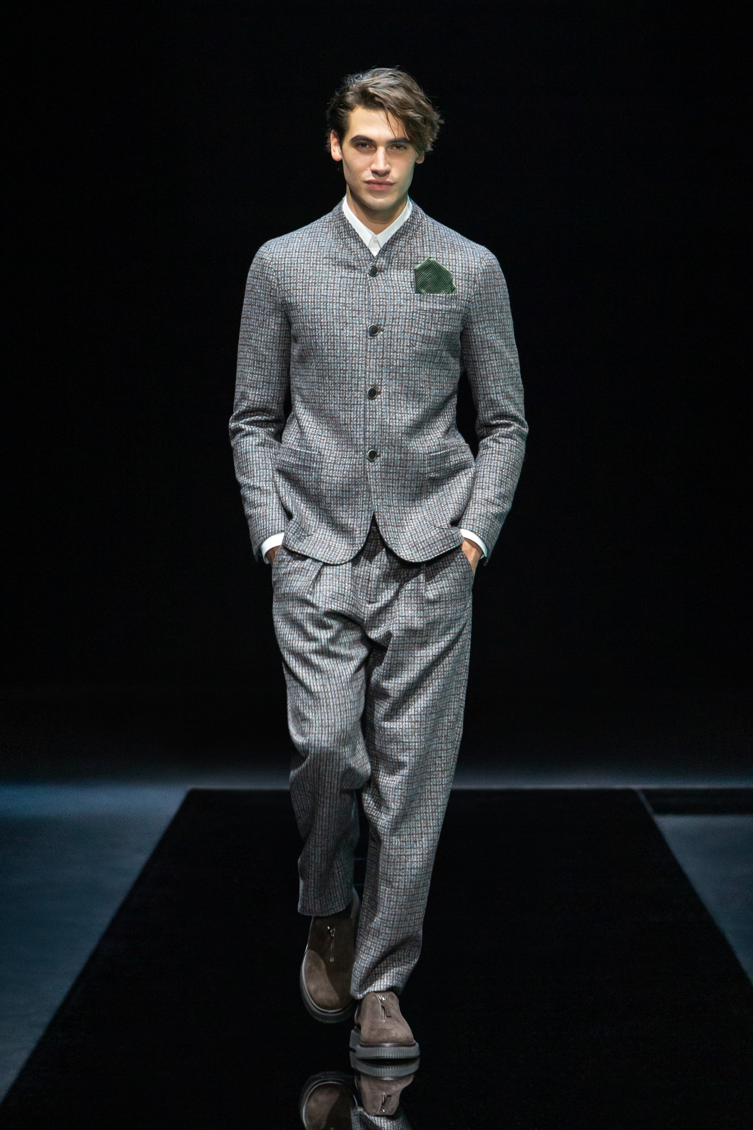 Giorgio Armani Men's Fall Winter 2021 - Milan Fashion Week