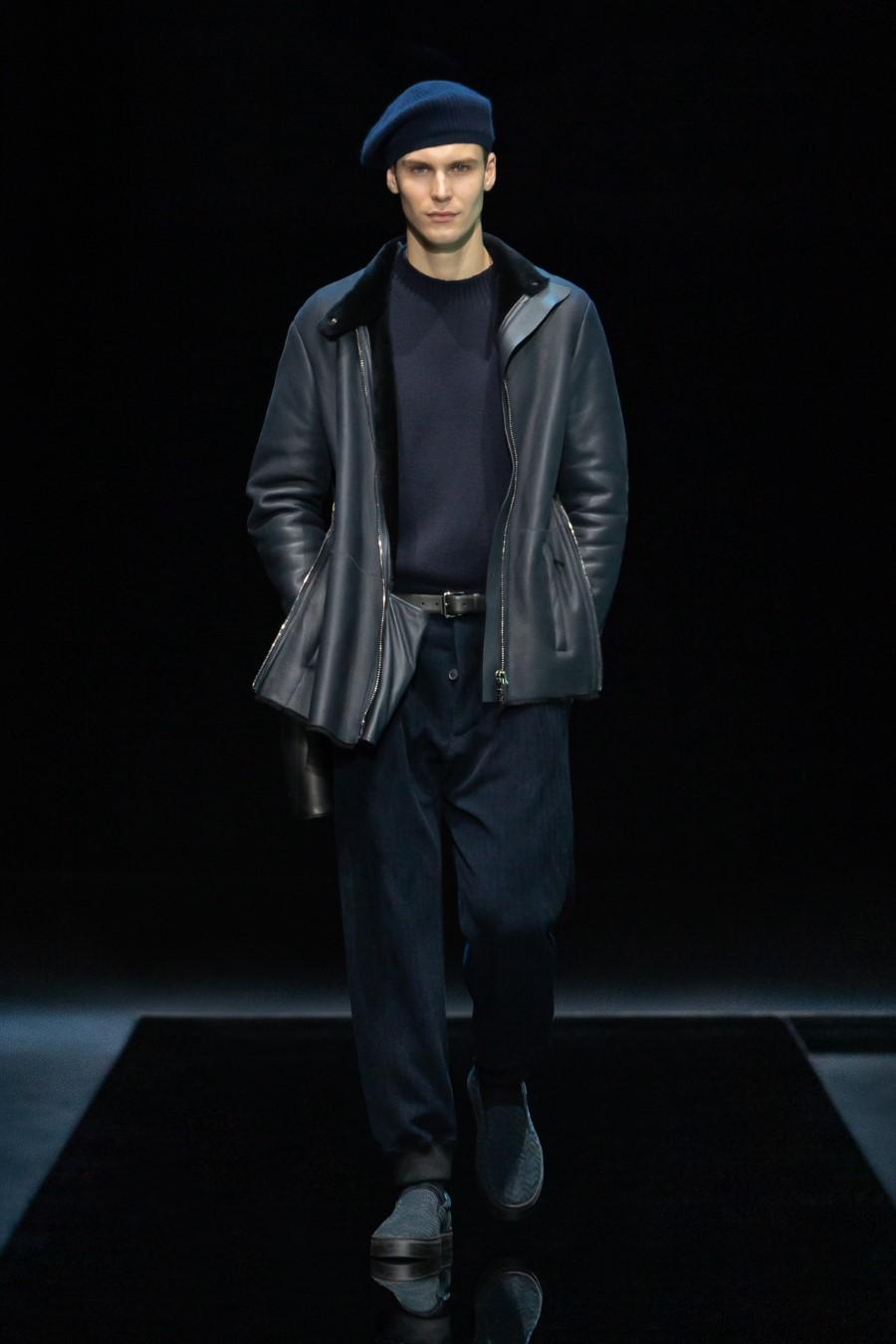 Giorgio Armani Men's Fall Winter 2021 - Milan Fashion Week
