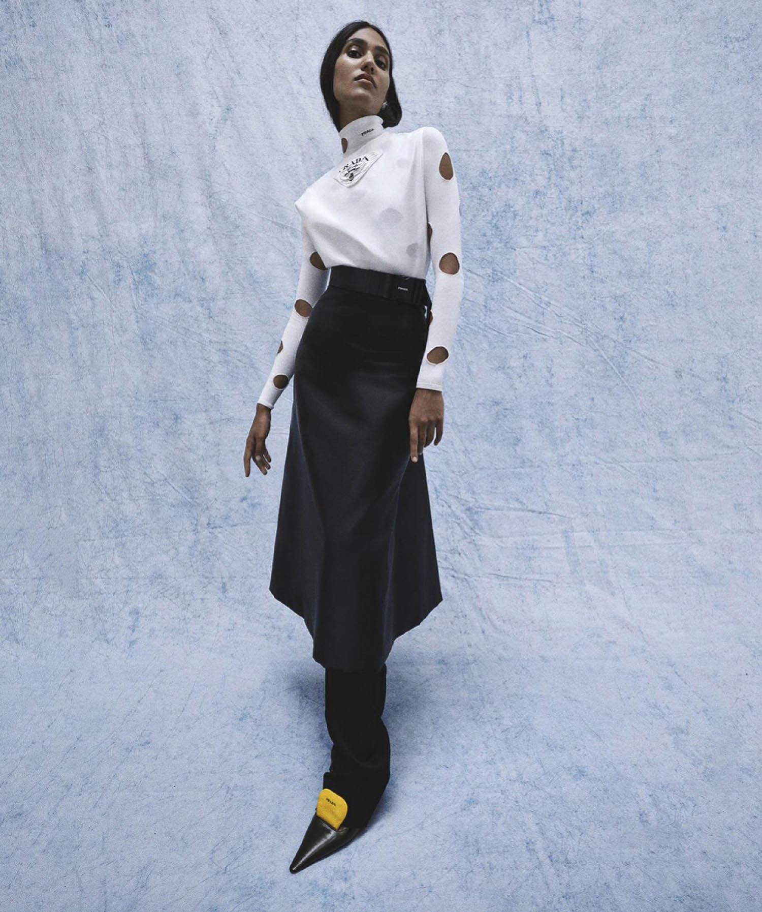 Hannah Wick by Christine Centenara for Vogue Australia March 2021