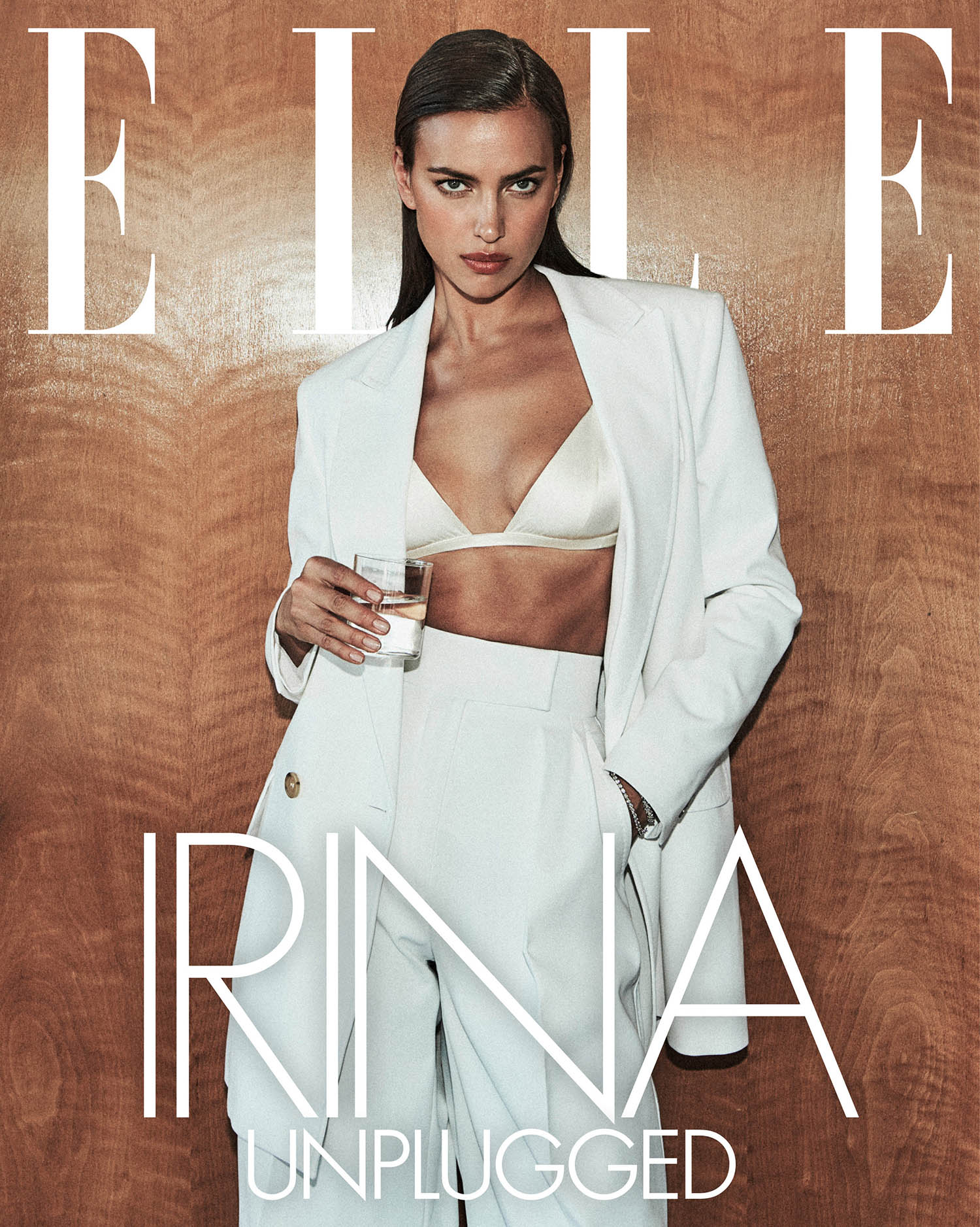 Irina Shayk covers Elle US March 2021 Digital Edition by Chris Colls