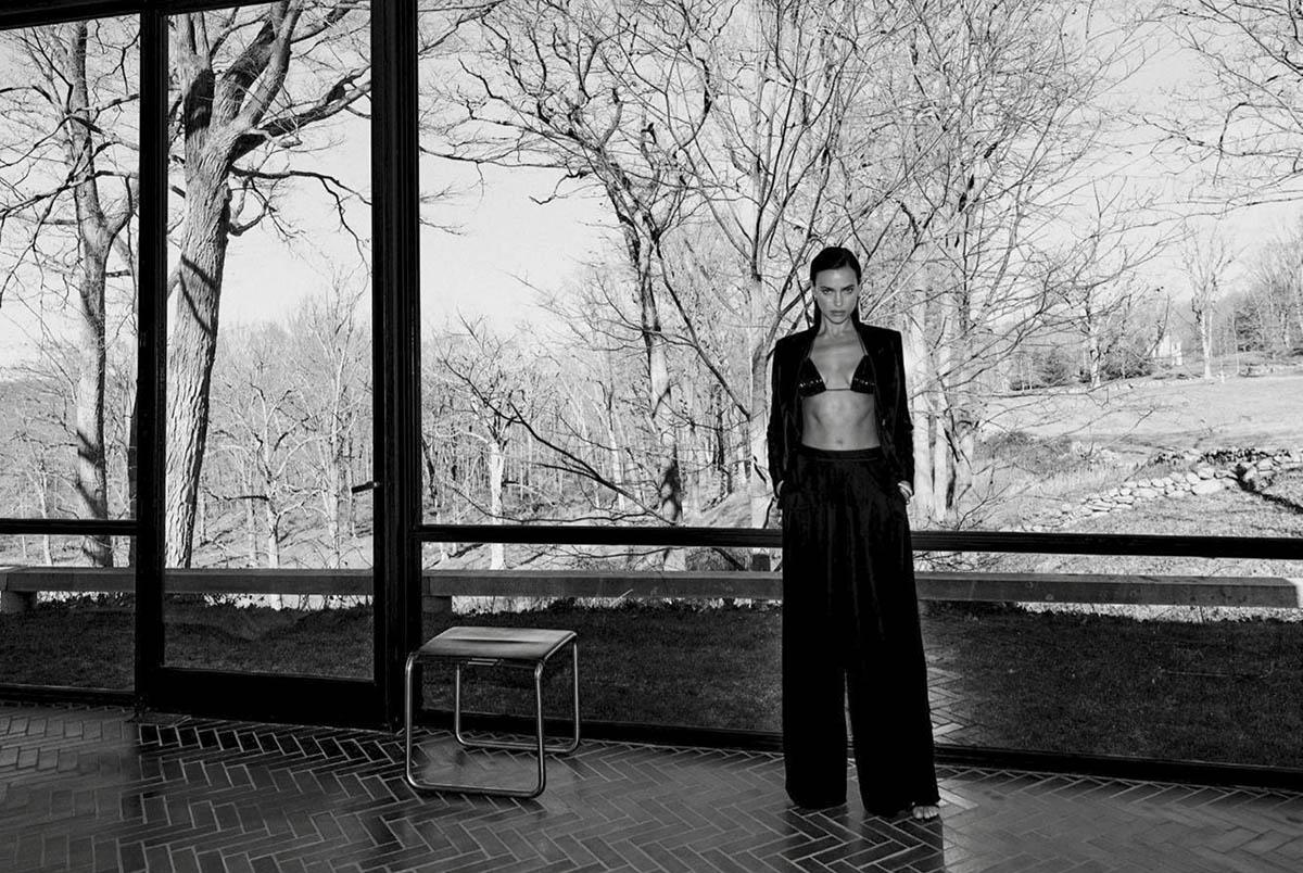 Irina Shayk covers Elle US March 2021 Digital Edition by Chris Colls