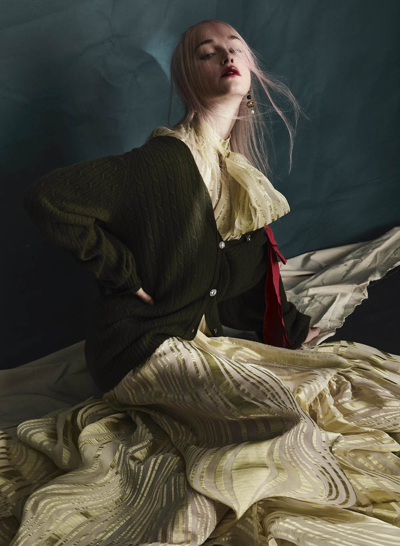 Jean Campbell by Sølve Sundsbø for V Magazine Spring 2021