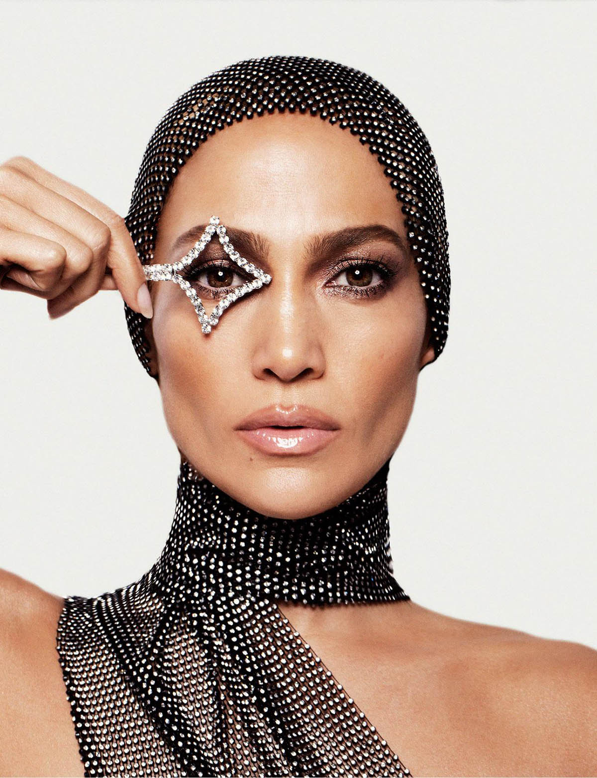 Jennifer Lopez covers Allure US March 2021 by Daniella Midenge