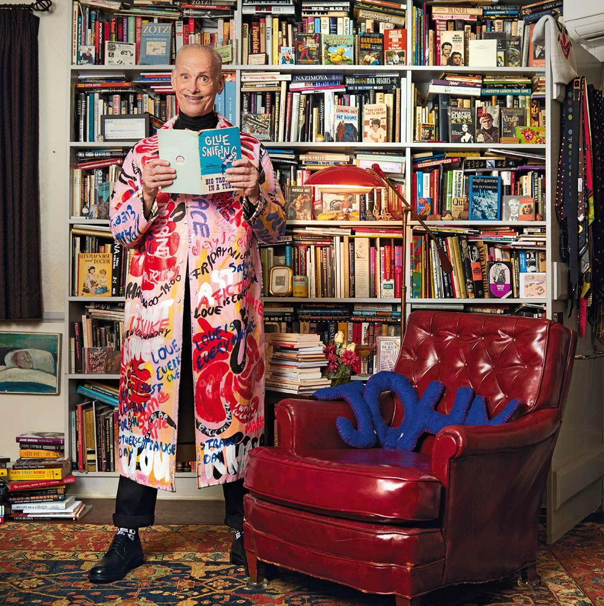 John Waters covers L'Uomo Vogue Issue 10 by Ethan James Green