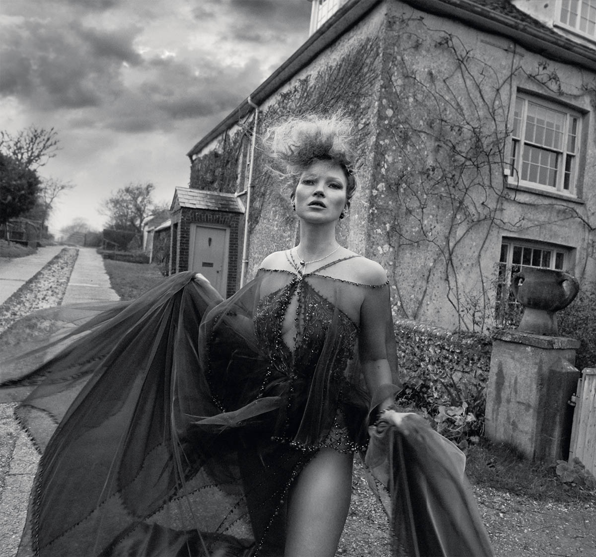 Kate Moss by Mert & Marcus for British Vogue March 2021