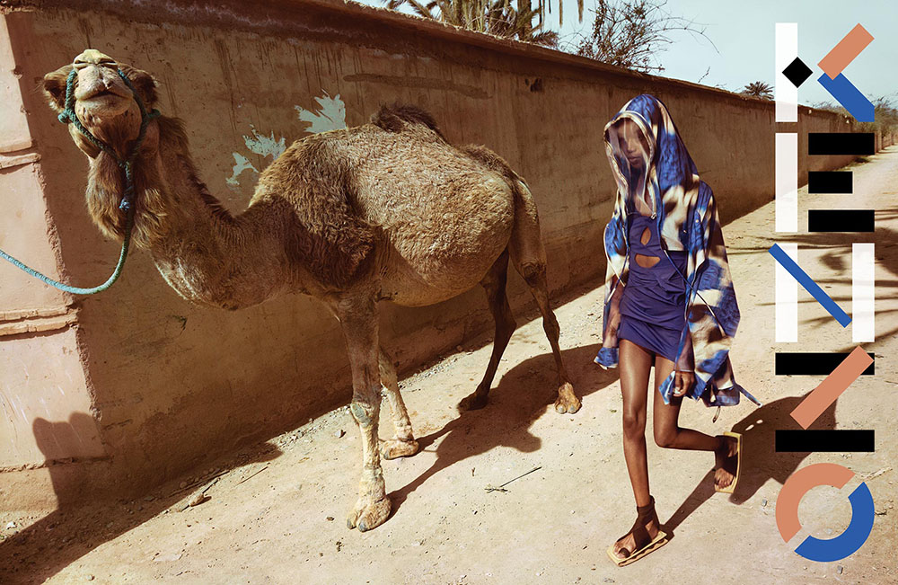 Kenzo Spring Summer 2021 Campaign