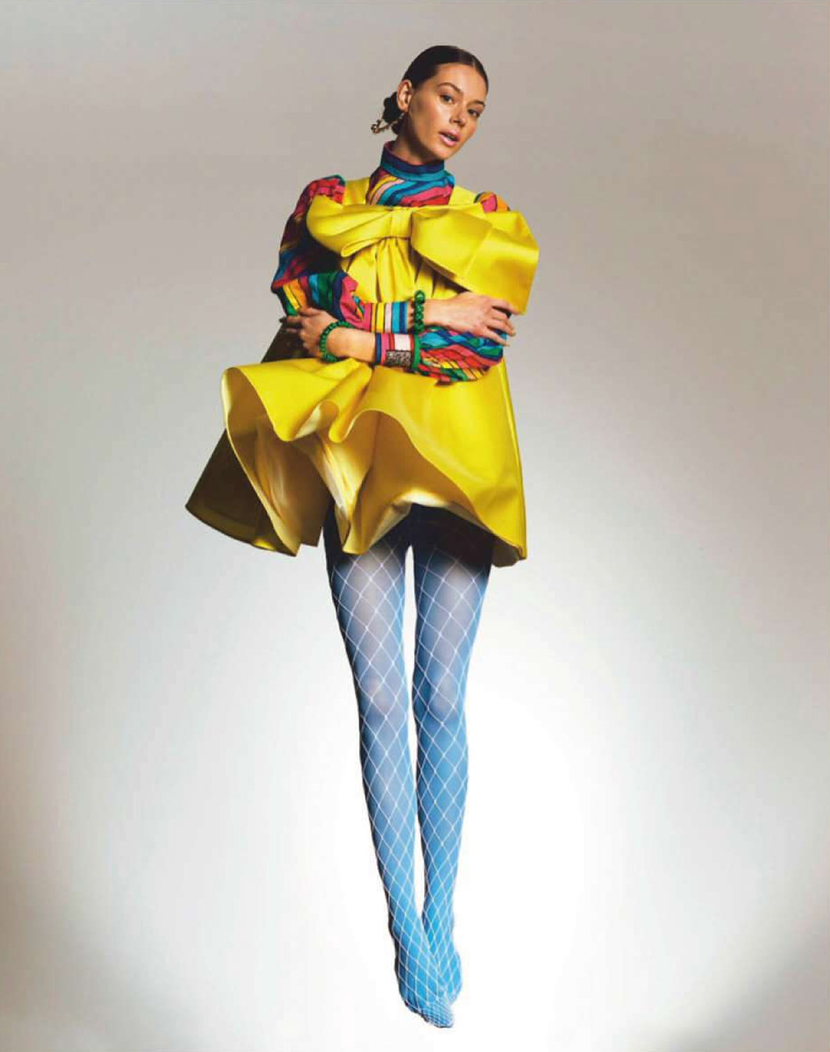 Lauren de Graaf by Mélissa De Araujo for Marie Claire France March 2021