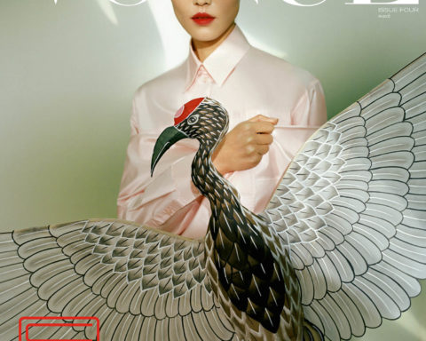 Liu Wen covers Vogue Singapore March 2021 by Leslie Zhang