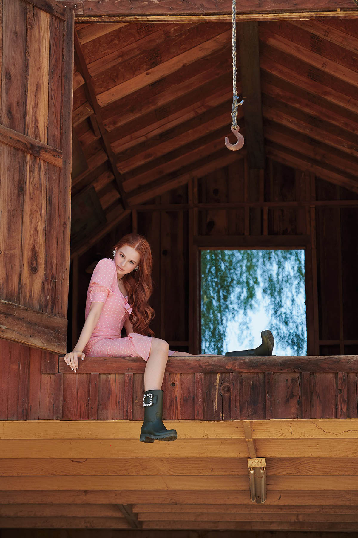Madelaine Petsch covers Cosmopolitan US March 2021 by Eric Ray Davidson