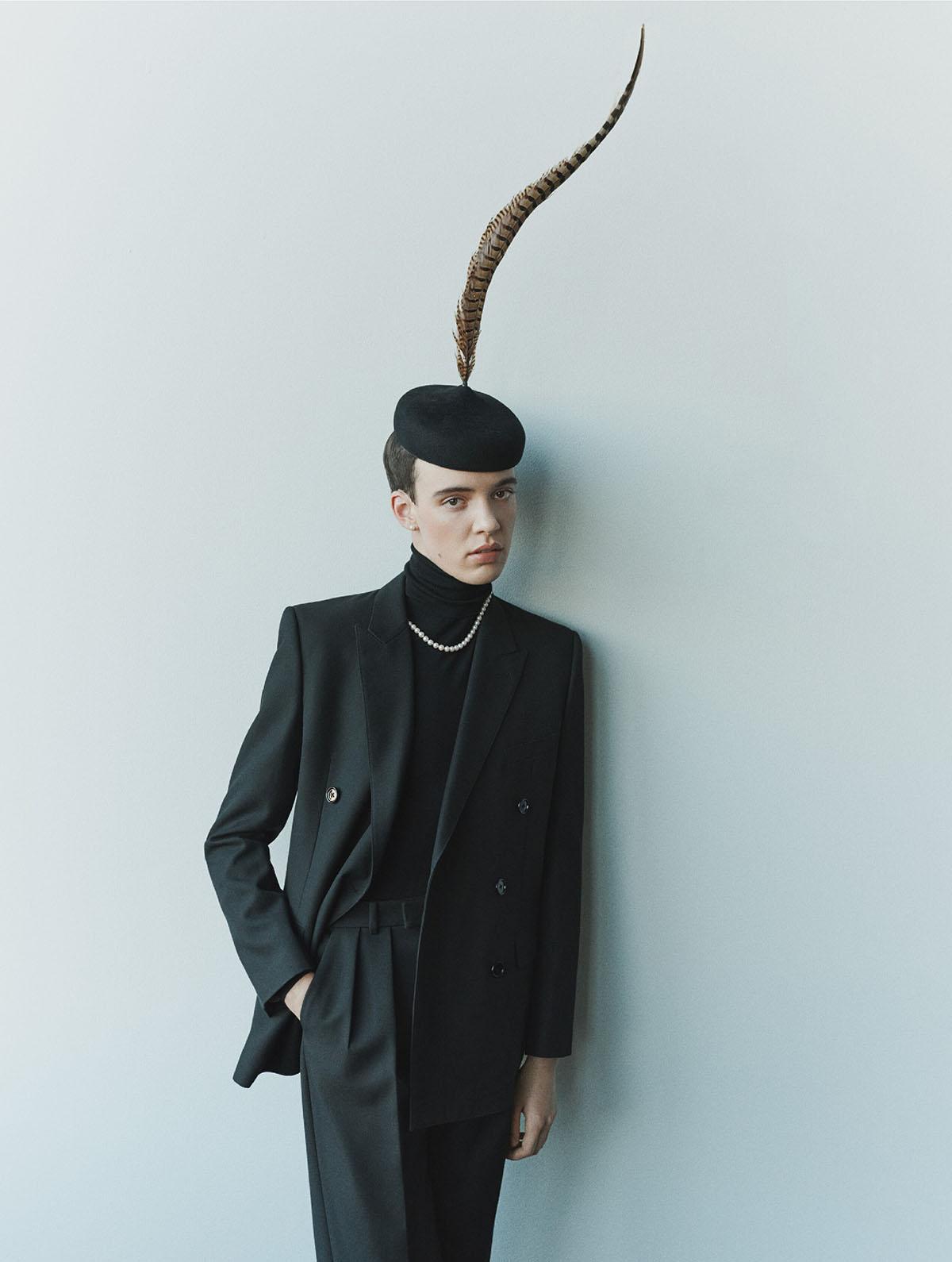 Oslo Grace by Tom Schirmacher for Elle UK March 2021