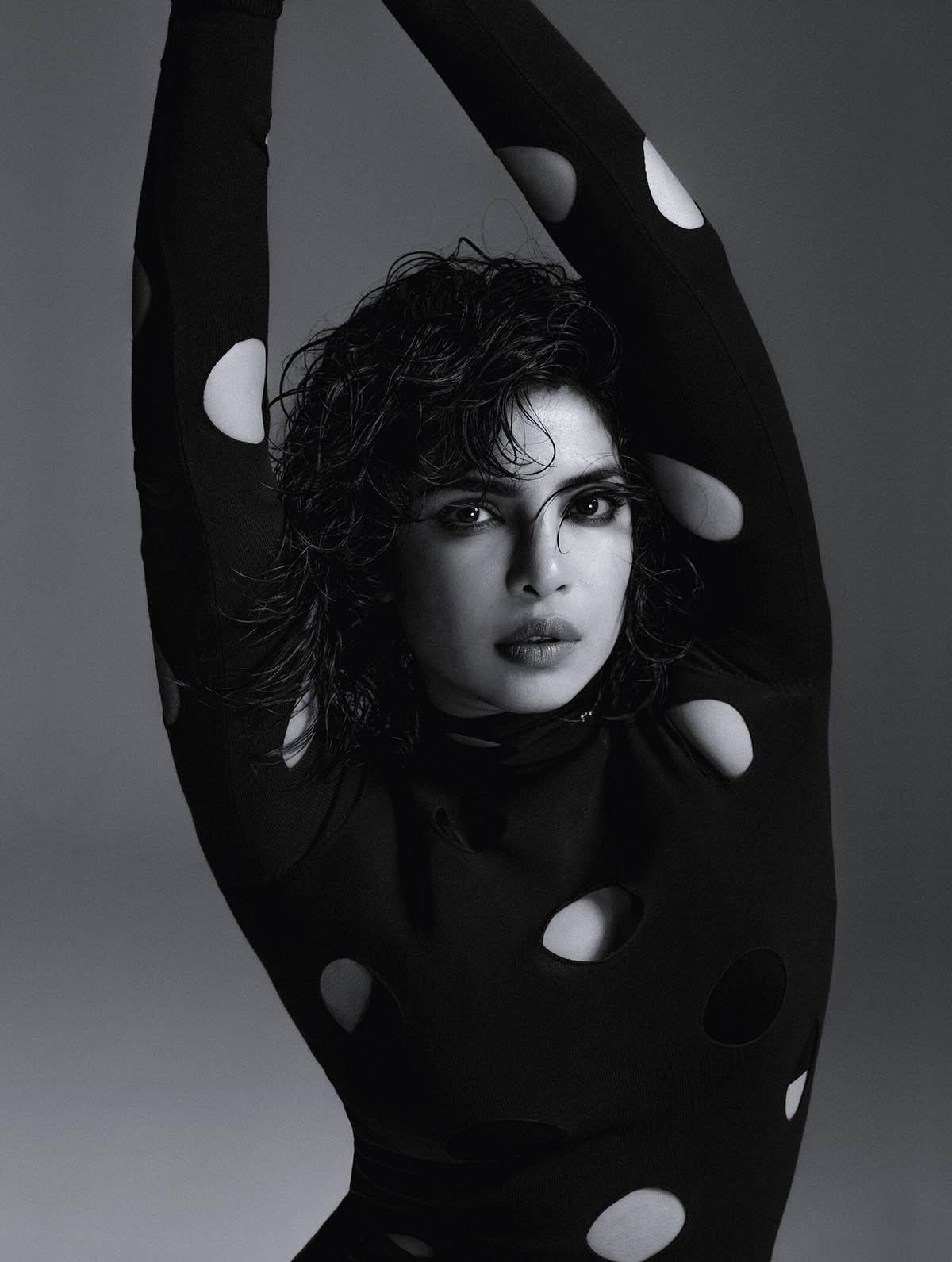 Priyanka Chopra covers Elle UK March 2021 by Lia Clay Miller