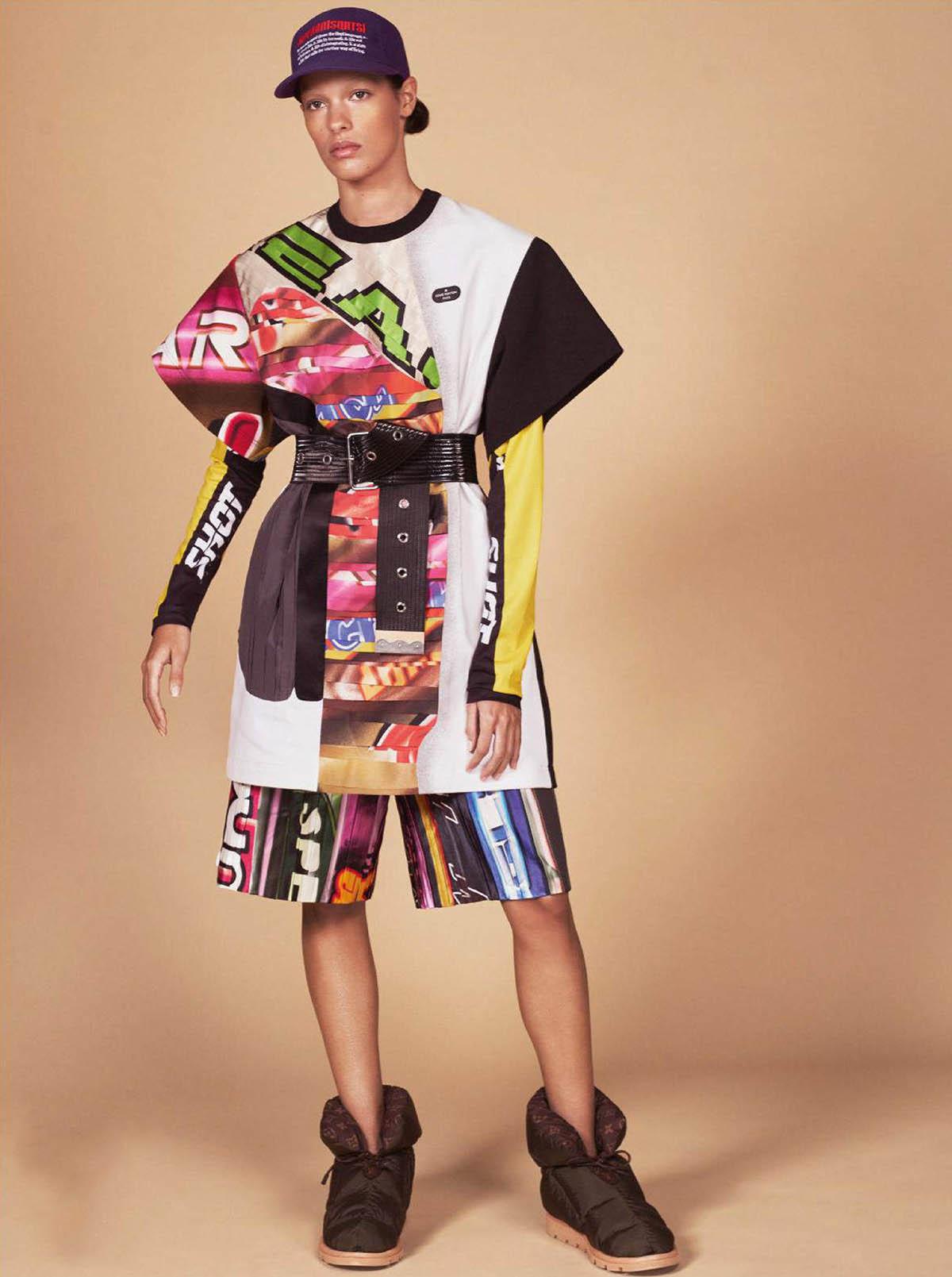 Quinn Mora covers Vogue Paris March 2021 by David Sims