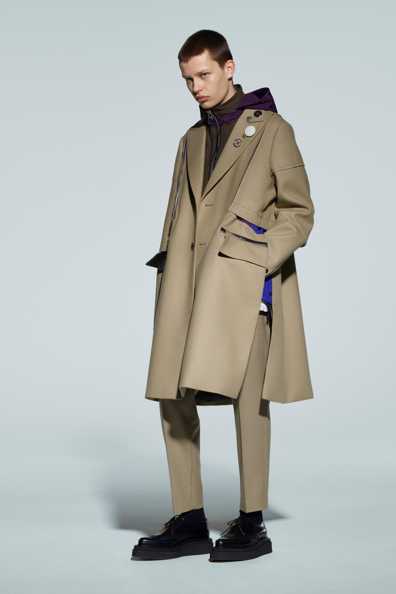 Sacai Men's Fall Winter 2021 - Tokyo Fashion Week