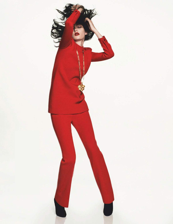 Sofia Steinberg by David Sims for Vogue Paris March 2021