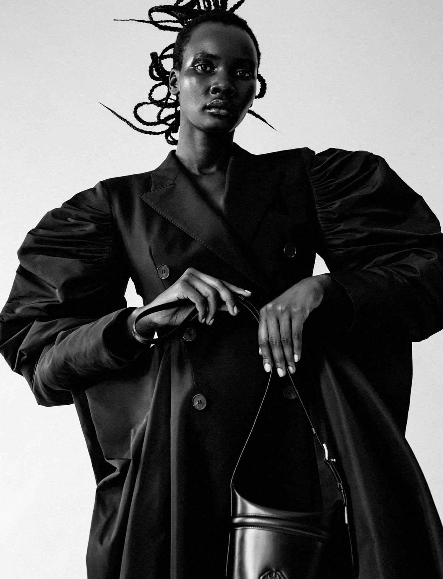 Tricia Akello by Dennis Stenild for Elle Mexico March 2021