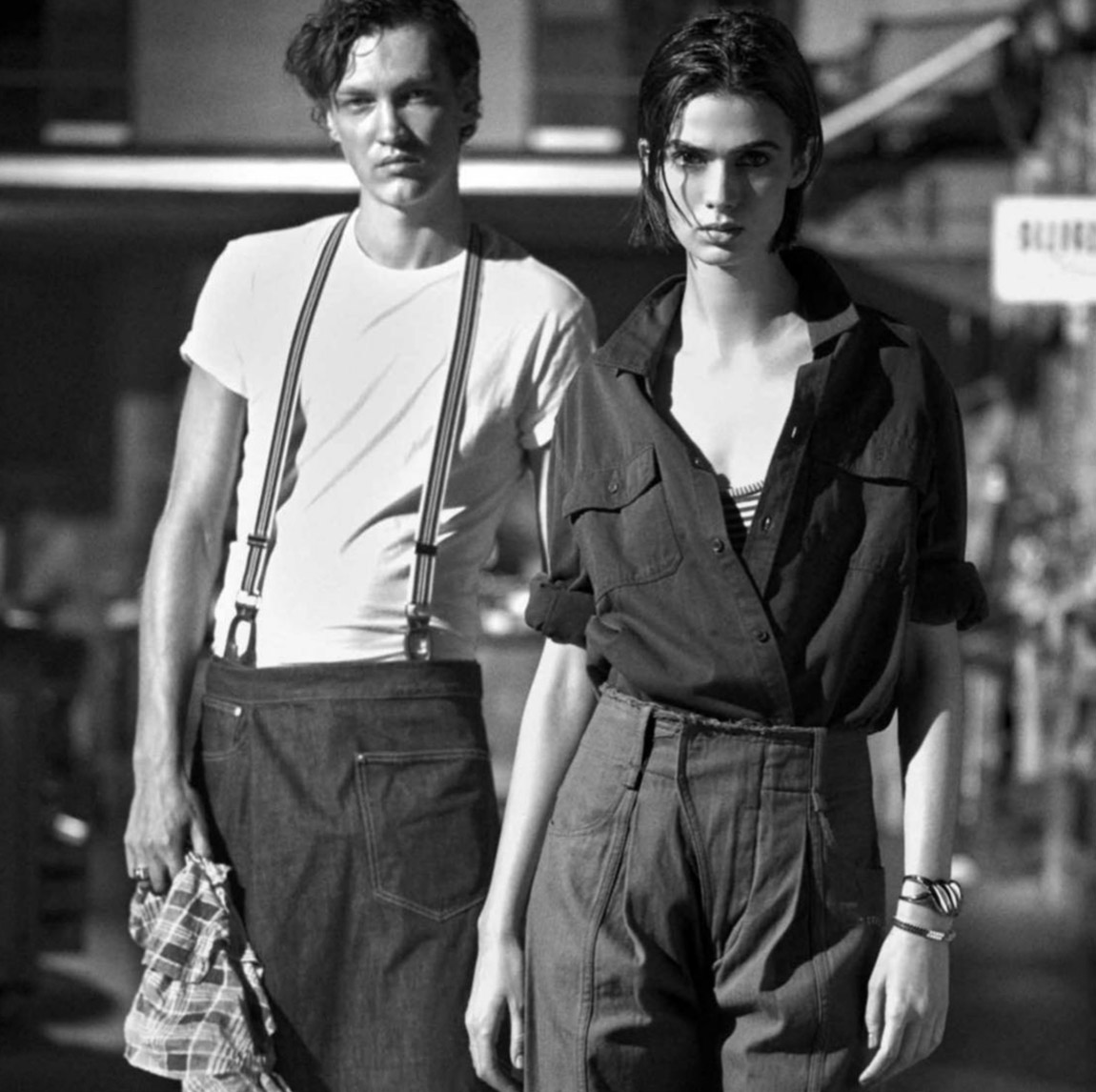 Vitoria Mota and Swann Guerrault by Lise-Anne Marsal for Madame Figaro March 5th, 2021
