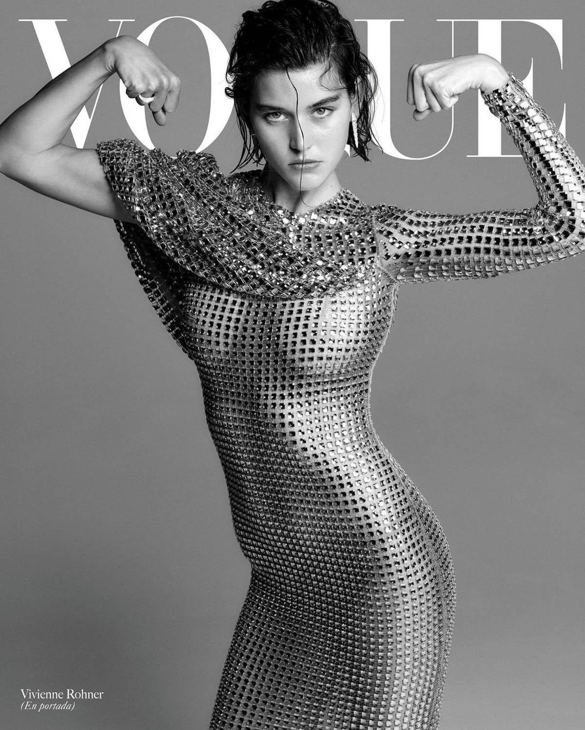 Vivienne Rohner covers Vogue Latin America March 2021 by Chris Colls