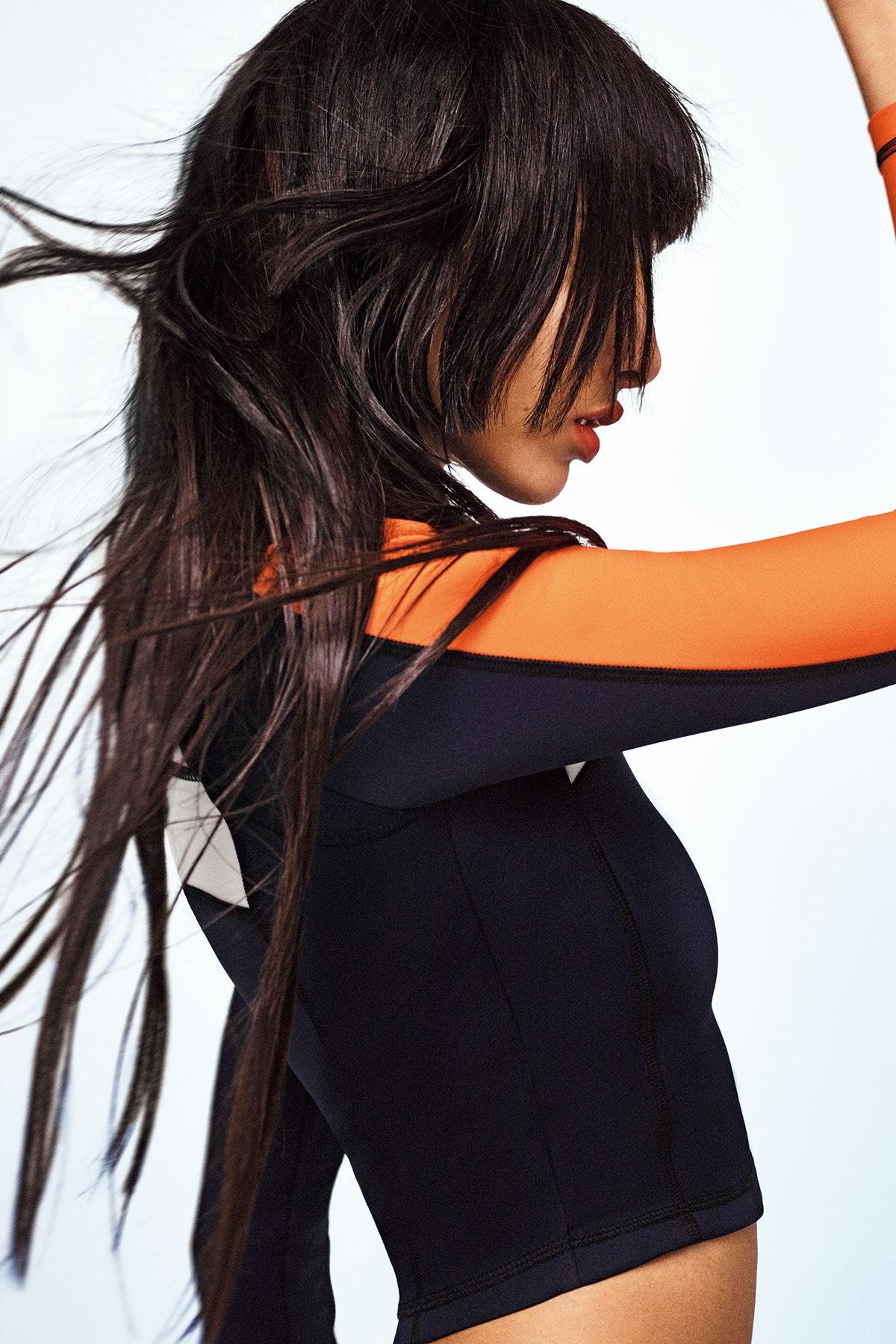 Yasmin Wijnaldum covers Vogue Beauty Japan March 2021 by Yulia Gorbachenko