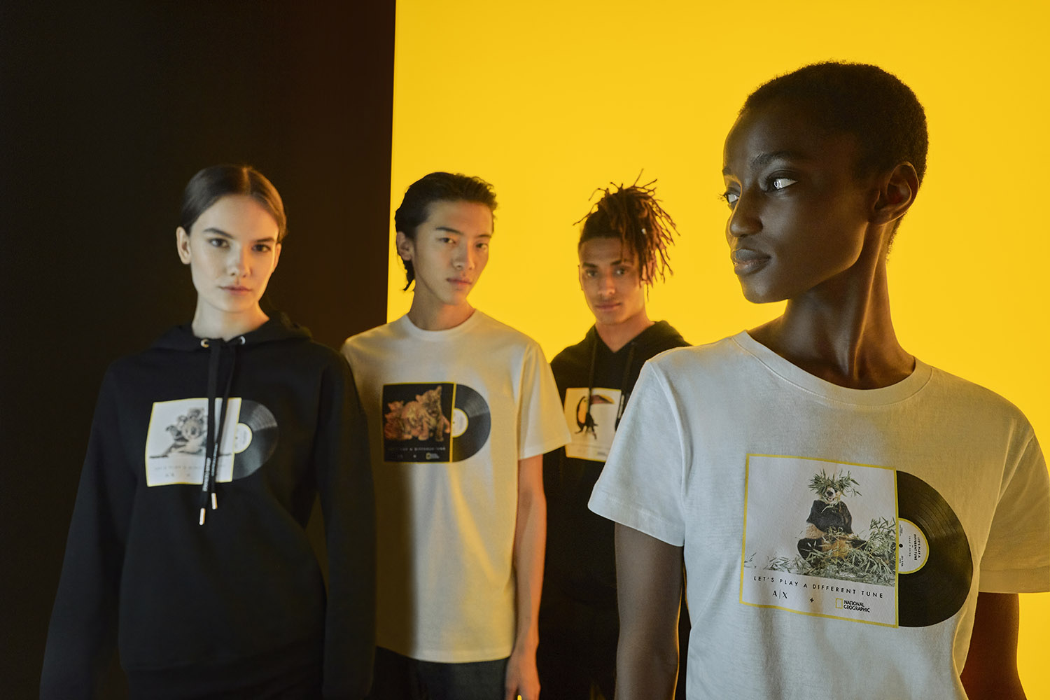 A|X Armani Exchange and National Geographic launch the second collection