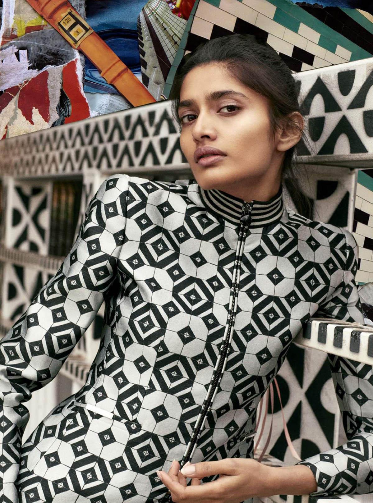 Aishwarya Gupta by Quentin Jones for Harper's Bazaar UK April 2021