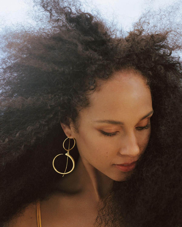 Alicia Keys covers Allure US April 2021 by Daria Kobayashi Ritch