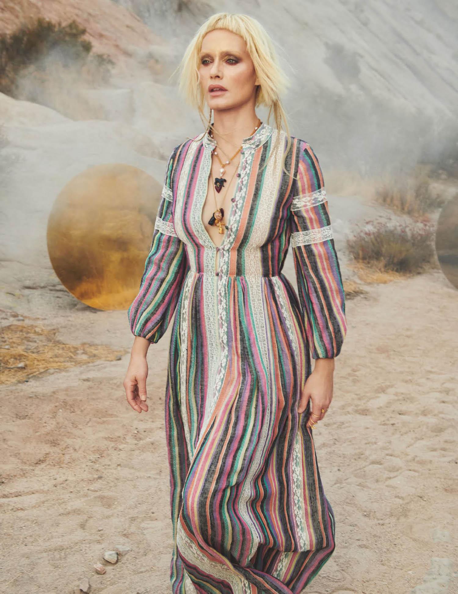 Amber Valletta by Craig McDean for British Vogue April 2021