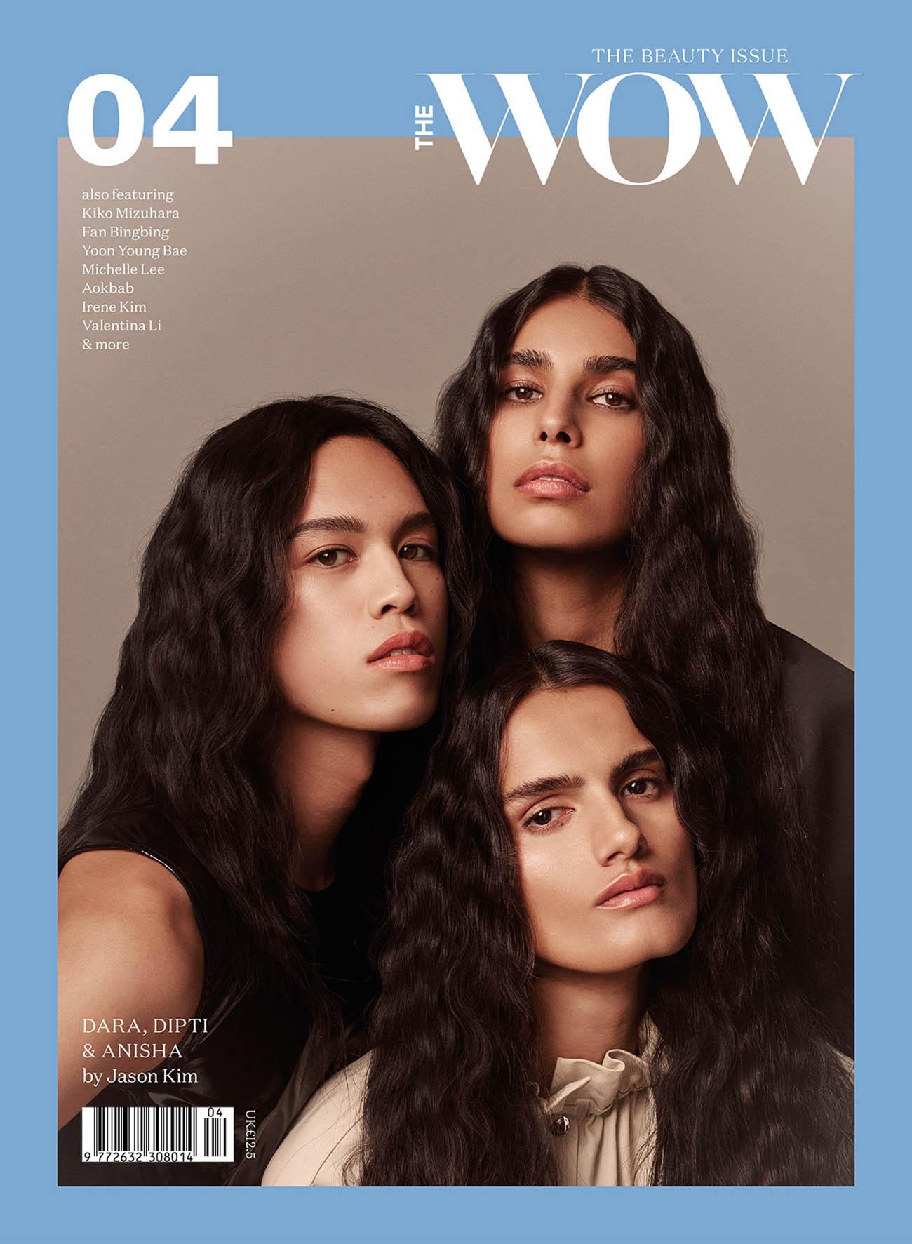 Anisha Sandhu, Dara Allen and Dipti Sharma cover The WOW Magazine Issue 4 2021 by Jason Kim