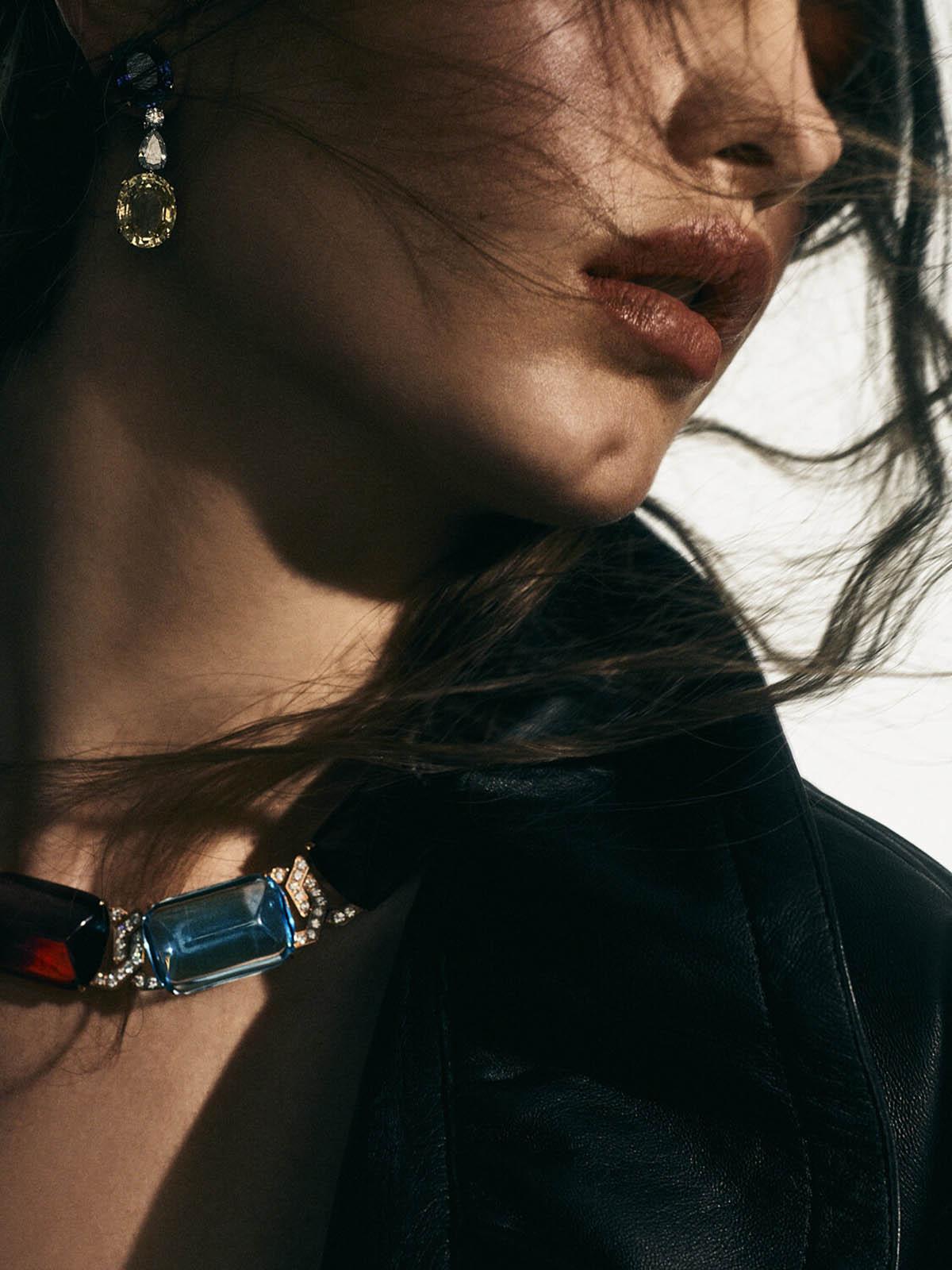 Ansolet Rossouw by Yulia Gorbachenko for Vogue Mexico & Latin America April 2021